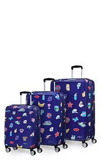 3e8cab0ff American Tourister Ceizer Fun 3 PC Set A Blue Fun