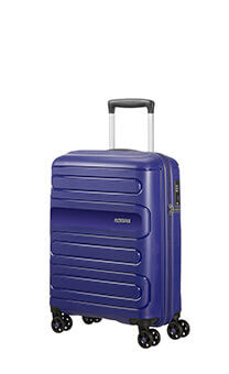 ed6c8473f American Tourister Sunside Spinner 55cm Navy. Cabin Luggage