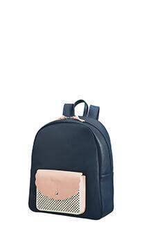 5c4ce04ff595 American Tourister Luna Pop Laptop Backpack 14.1' Dark Navy/Light Pink