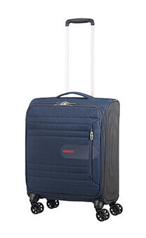 51c0a4f545 American Tourister Sonicsurfer 4-wheel cabin baggage Spinner suitcase  55x40x20cm Midnight Navy