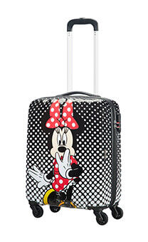 5b6175c3e1 American Tourister Disney Legends Spin.55 20 Alfatwist 2.0 55cm Minnie  Mouse Polka Dot