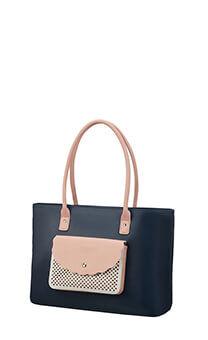 a5d71935ab74 American Tourister Luna Pop Tote Bag 14.1' Dark Navy/Light Pink