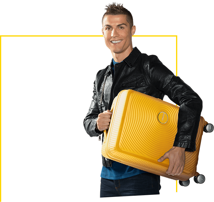 Cristiano Ronaldo's suitcase: Soundbox