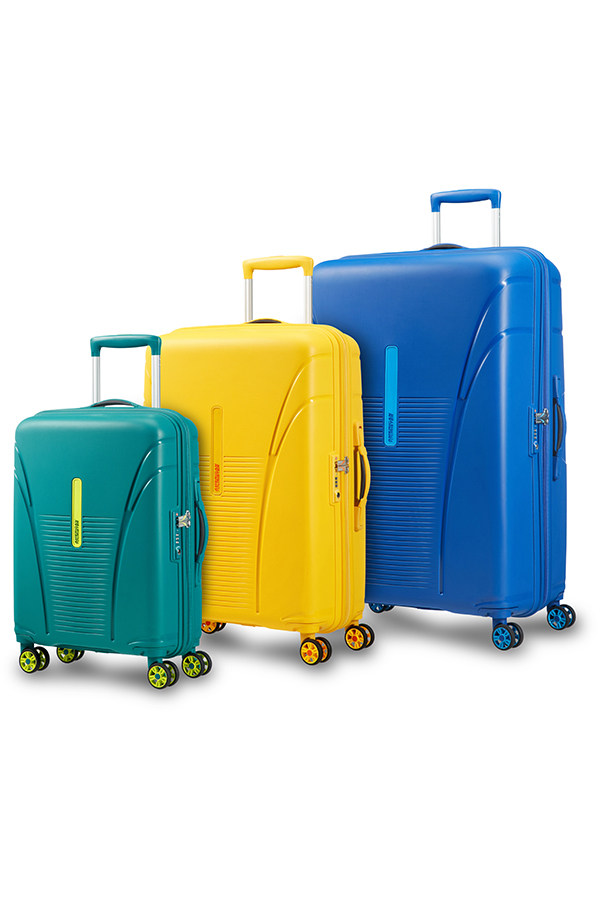 Skytracer 4-wheel cabin baggage Spinner suitcase ...