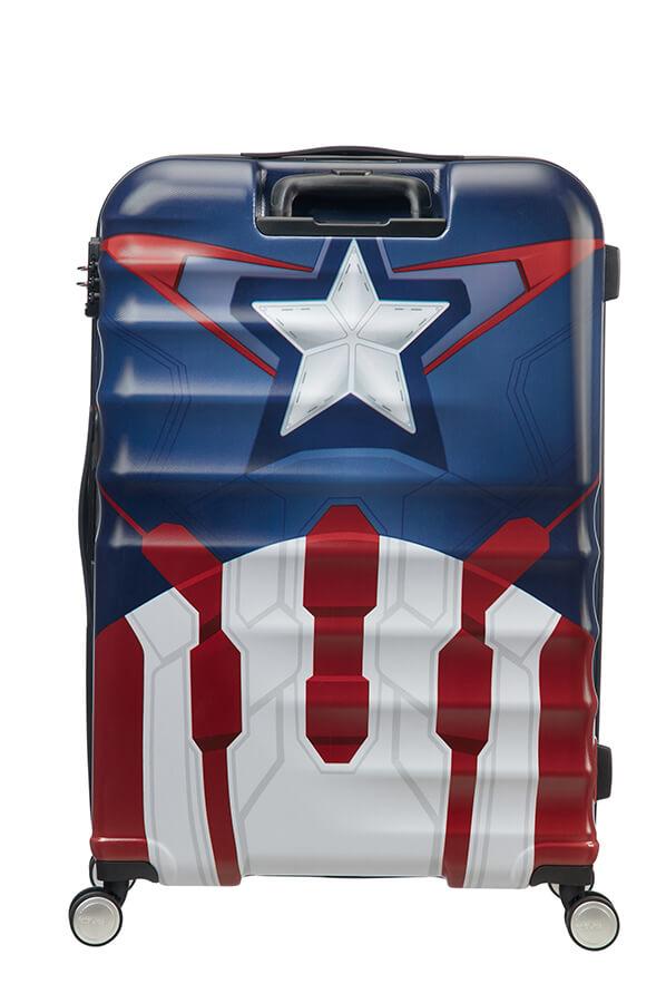 Captain America Close-Up 96 L American Tourister Disney Wavebreaker Spinner Marvel 77 cm